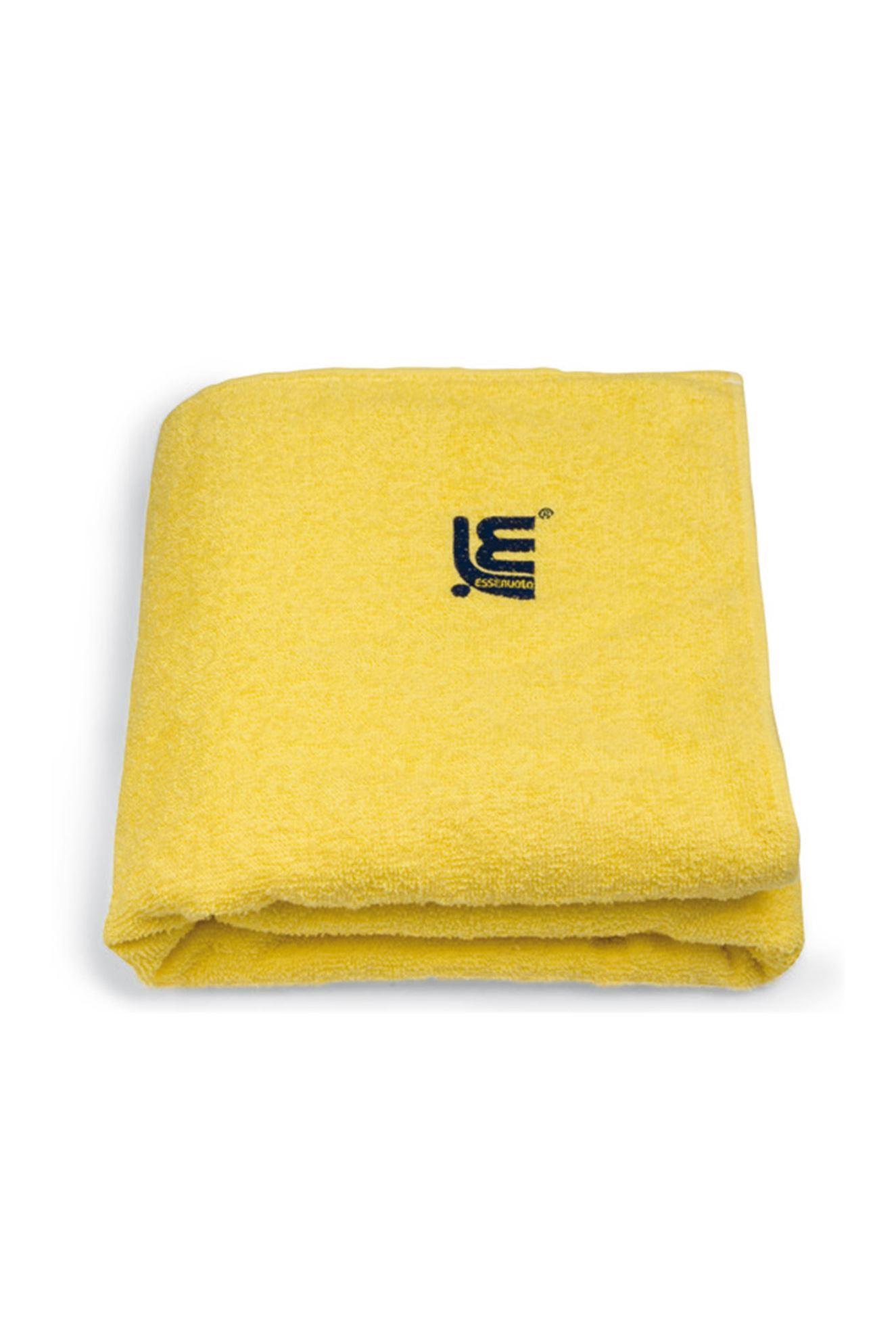 204001 MAXI PLAIN COLOUR TOWEL YELLOW 70X150 CM