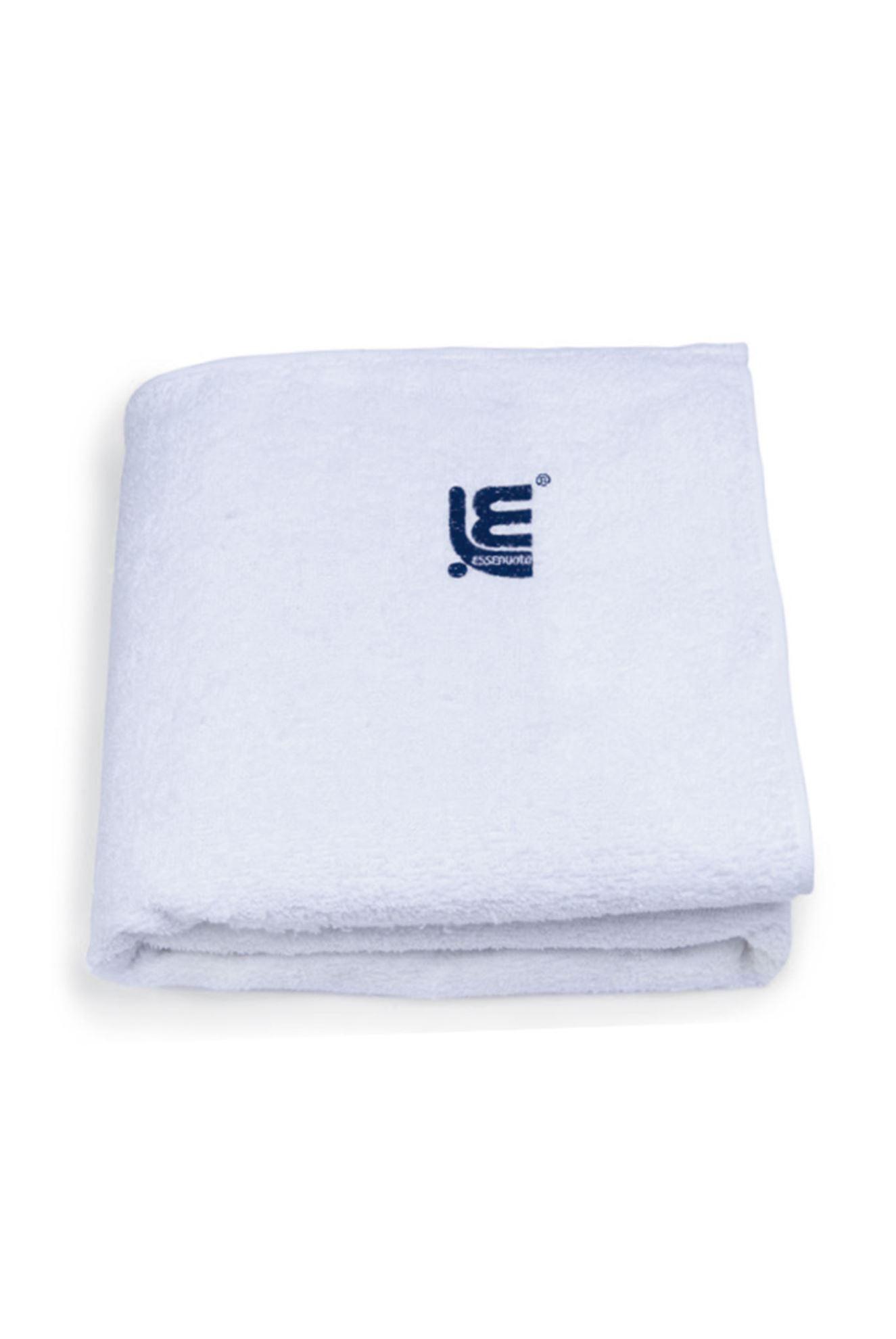 204014 MAXI PLAIN COLOUR TOWEL WHITE 80X160 CM